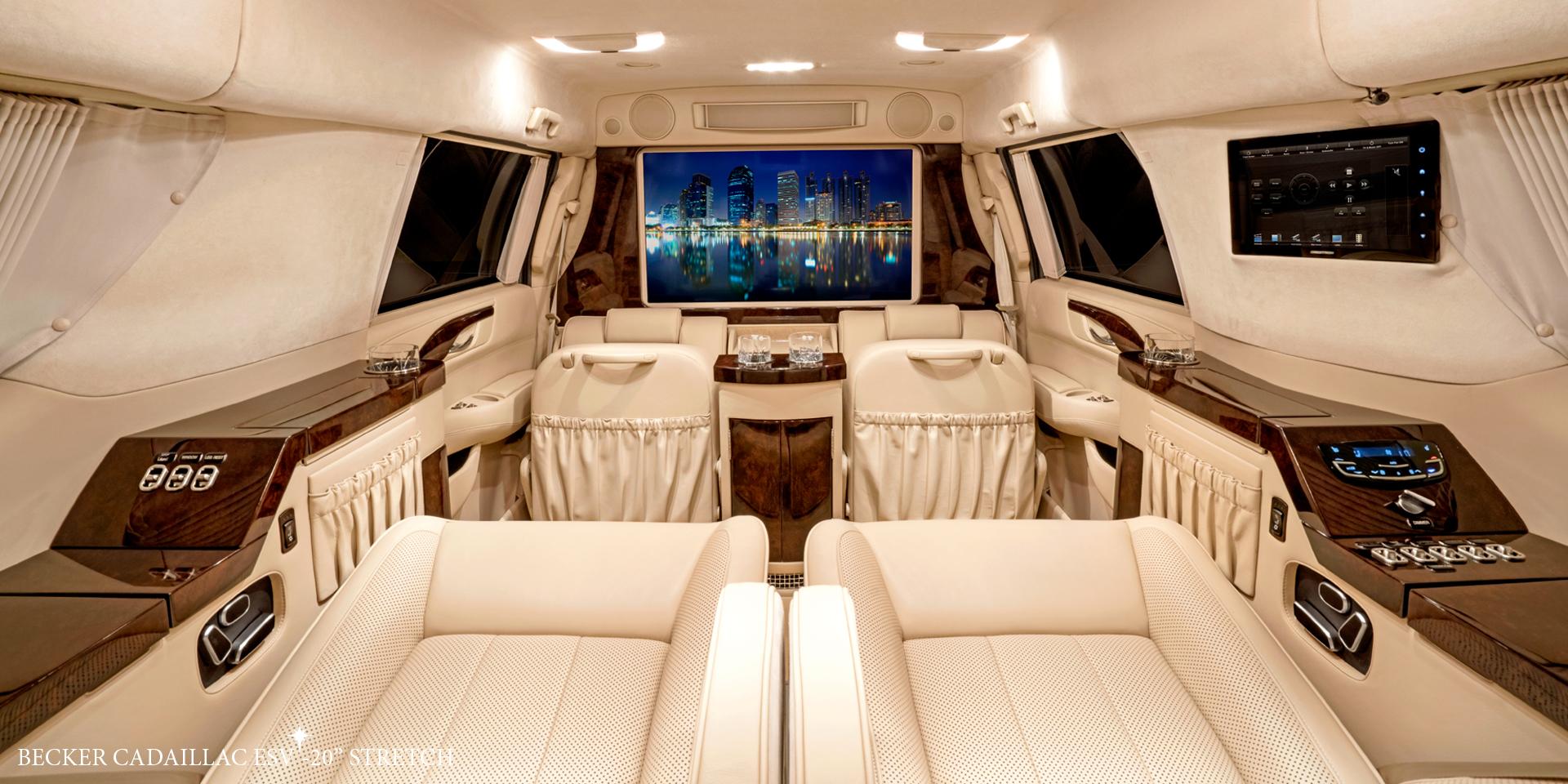 Becker Automotive Design Luxury Transport Coaches