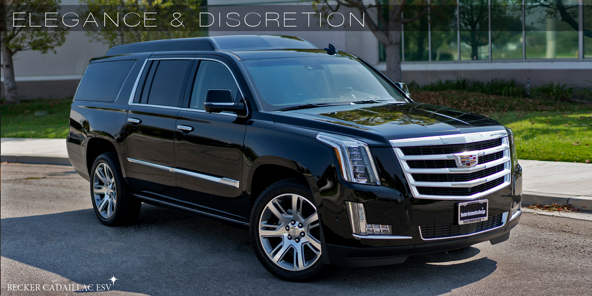 Becker Automotive Design // Luxury Transport Coaches // Sprinter Van and Cadillac ESV Conversions