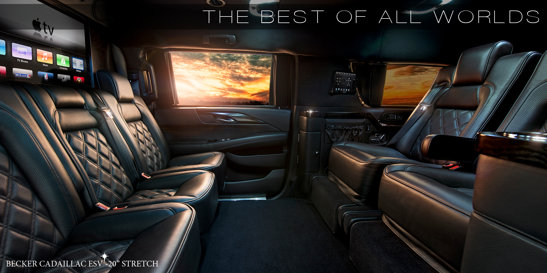 Becker automotive design luxury transport coaches for Mercedes benz sprinter custom interiors