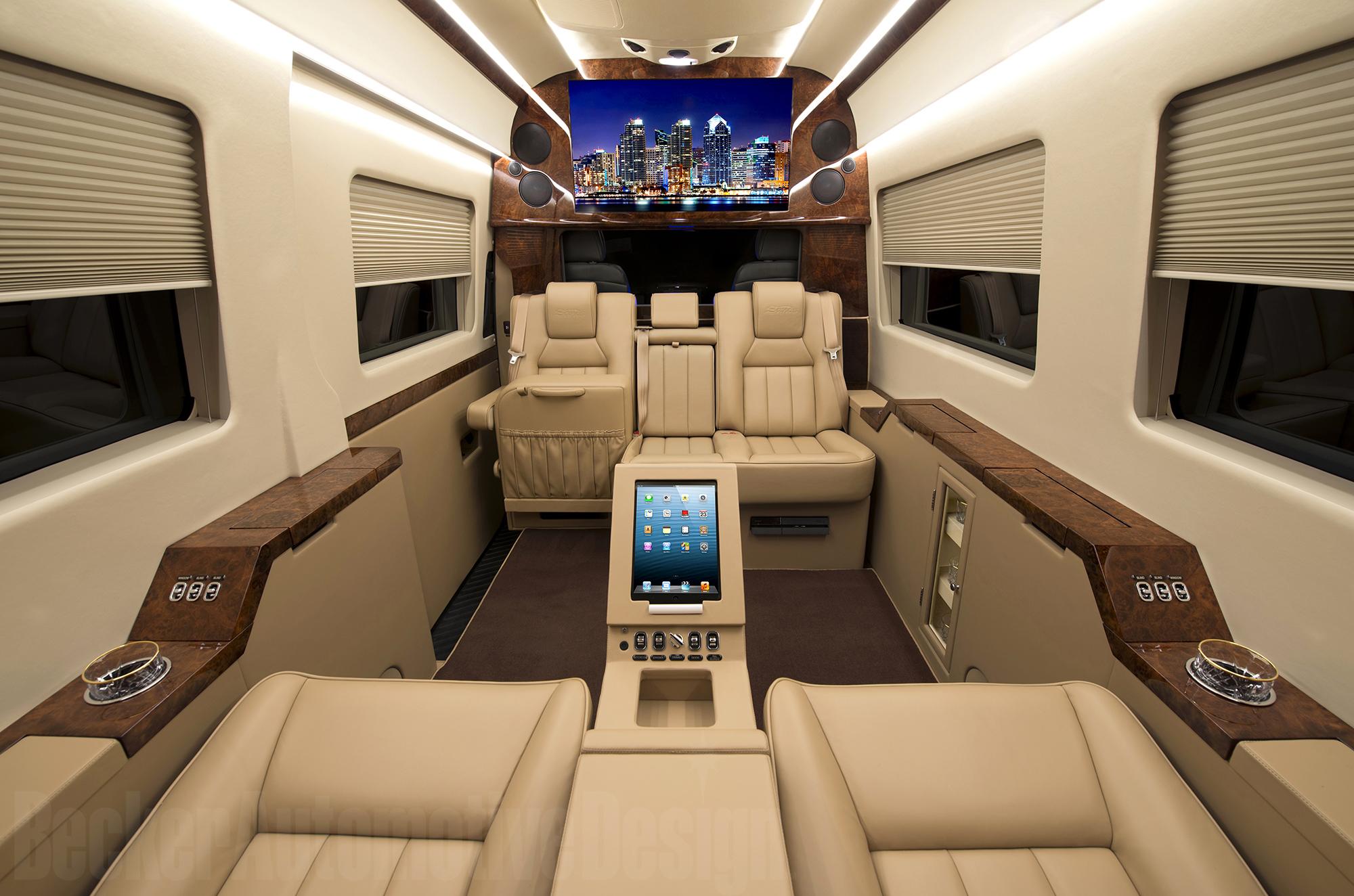 Becker Automotive Design // Luxury Transport Coaches ...