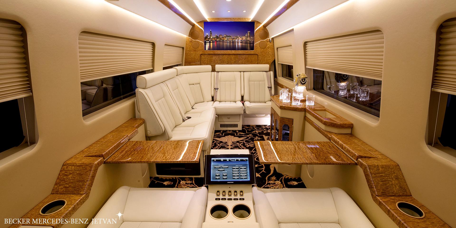 Becker Automotive Design // Luxury Transport Coaches