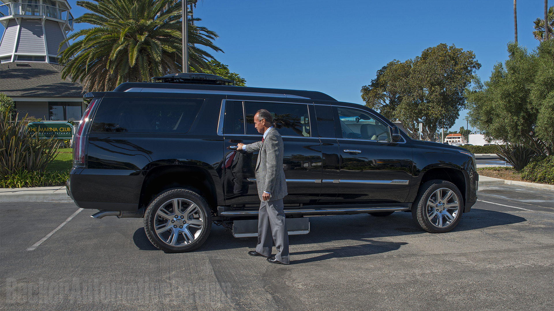 Latest Cadillac Escalade >> Becker Automotive Design // Luxury Transport Coaches // Sprinter Van and Cadillac ESV Conversions