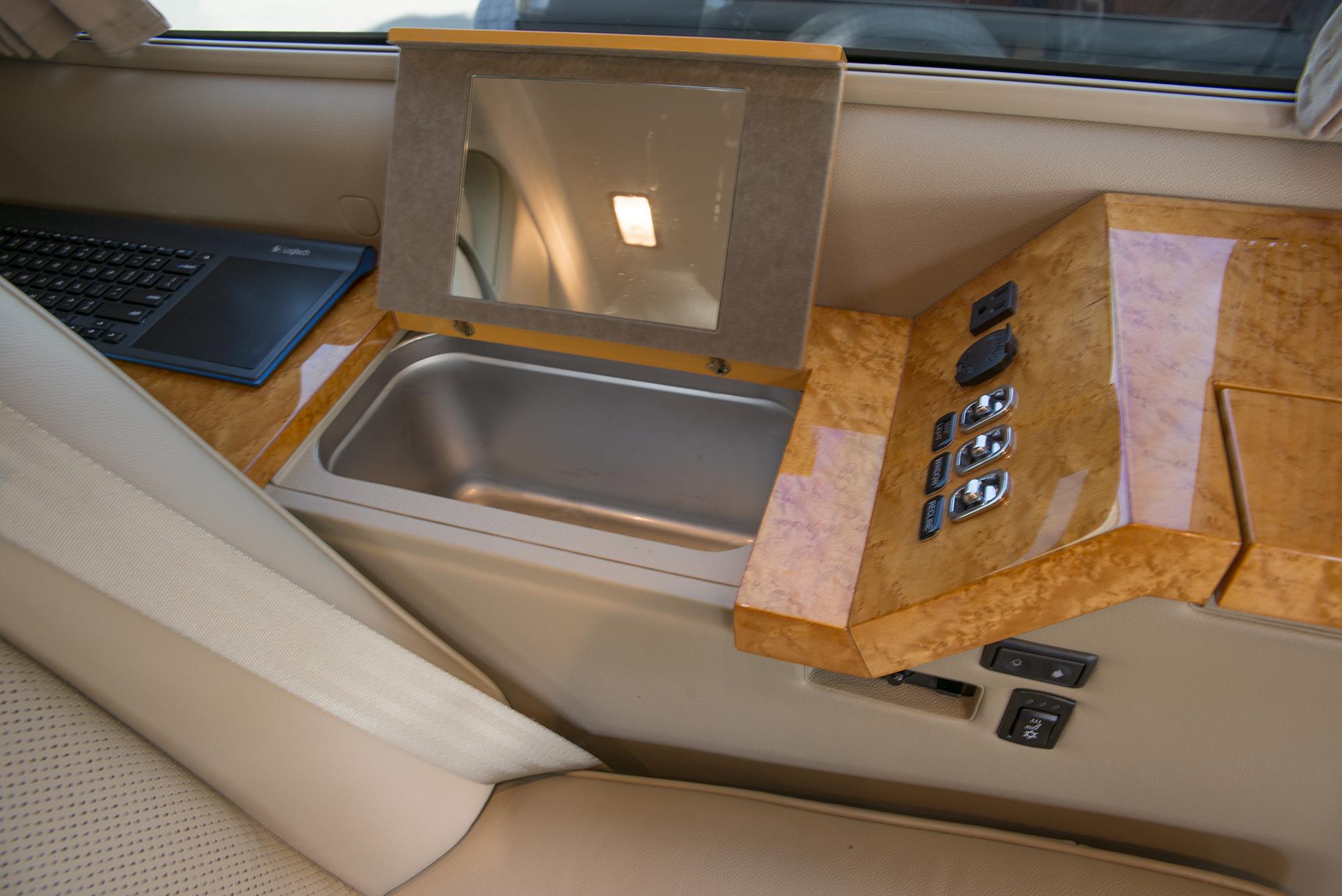 Becker Automotive Design // Luxury Transport Coaches // Sprinter Van and Cadillac ESV Conversions